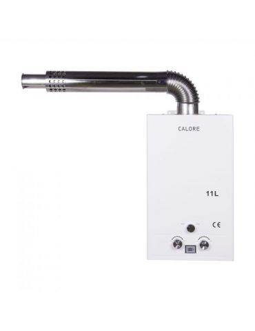 Instant apă caldă pe GPL GN Calore TN11, tiraj natural