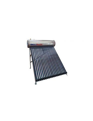 Panou solar cu 25 tuburi vidate pentru preparare apă caldă menajeră cu rezervor de inox presurizat 200 litri BlauTech