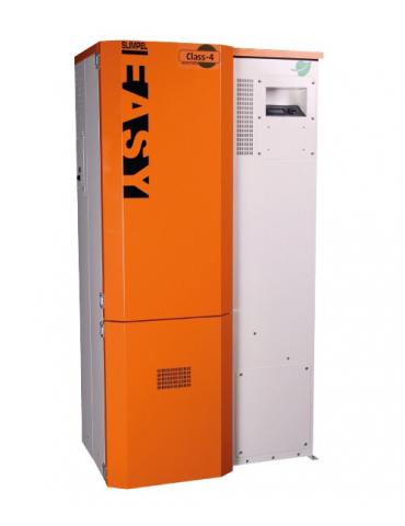 Kozlusan Slimpel Easy 70 kW, centrală termică pe peleți, curățare manuală arzător