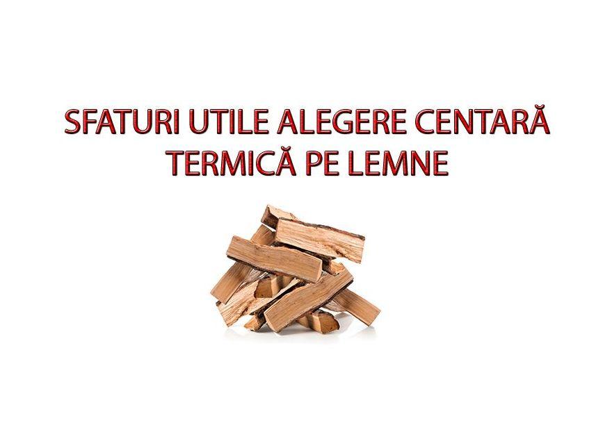 Ce trebuie sa stii atunci cand vrei sa cumperi o centrala termica pe lemne?