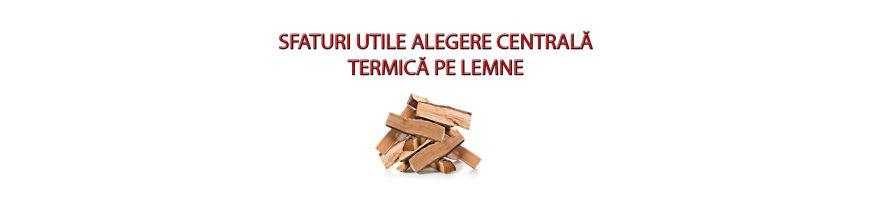 Sfaturi utile pentru alegerea și utilizarea centralelor termice pe lemne